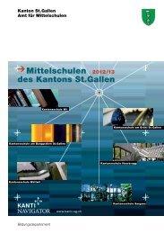 Mittelschulen des Kantons St.Gallen - Kanti-Navigator