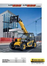 LM625 Turbo - New Holland Construction