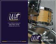 witt percussion catalog 2