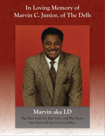 Download Obituary - Our Loving Memory of Marvin Junior