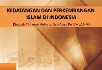 Sejarah Kedatangan Islam ke Nusantara - WordPress.com