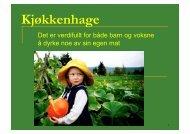 Helge Jensen: Økologisk kjøkkenhage