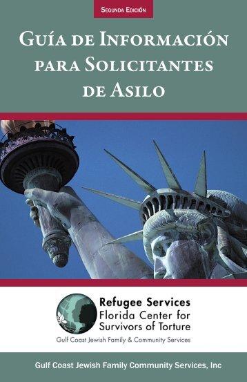 Guía de Información para Solicitantes de Asilo - Gulf Coast Jewish ...