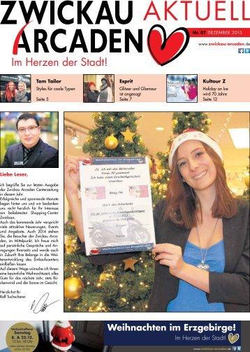 Liebe Leser, Tom Tailor Esprit Kultour Z - Zwickau Arcaden
