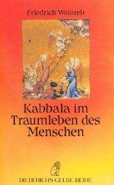 Friedrich Weinreb (Buch): Kabbala im Traumleben des Menschen