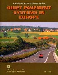 Quiet Pavement Systems in Europe - Virginia Asphalt Association