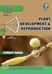 PLANT DEVELOPMENT & REPRODUCTION - CBSE International