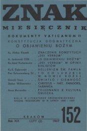 Nr 152, luty 1967 - Znak