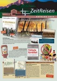 KAtALOG 2014 - Zeitreisen Verlag