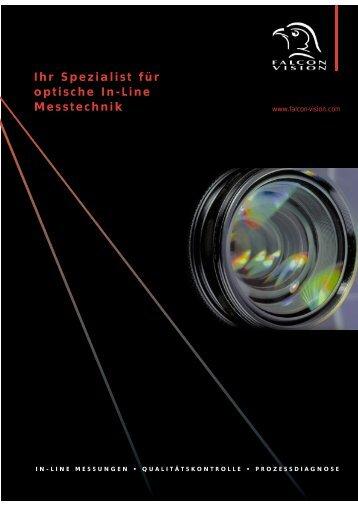 Prospekt (pdf, 643 KB) - Falcon-Vision