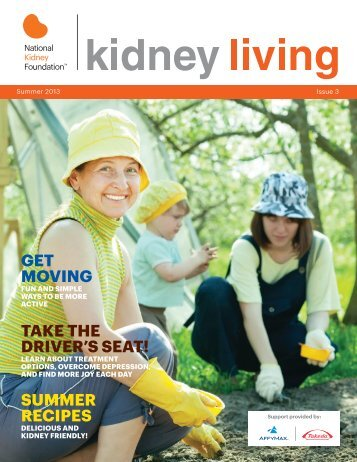 Issue 3 Summer 2013 - National Kidney Foundation