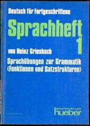 Sprachheft 1 - buchkalmar.de