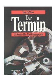 Tom DeMarco - Der Termin