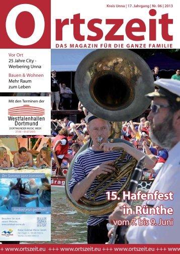 OZ 06 2013.pdf - ORTSZEIT - Das Magazin für die ganze Familie
