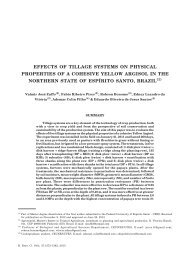 effects of tillage systems on physical properties of a cohesive yellow ...