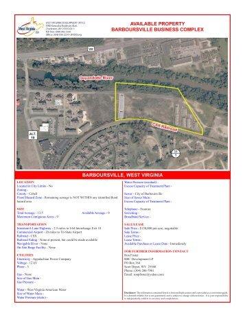 Barboursville Business Complex - West Virginia Department of ...