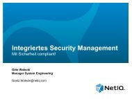 Integriertes Security Management - it-sa