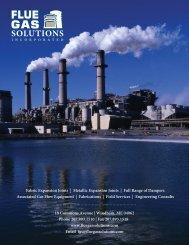 Metallic Expansion Joints - Flue Gas Solutions