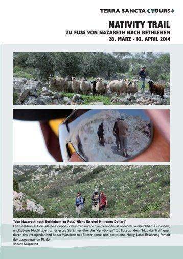 Programm Nativity Trail 2014