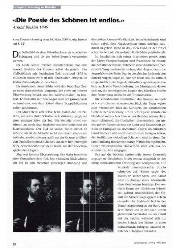 """""""Der Europäer"""" Ig. 13 I Nr. 5 / März 2009"""