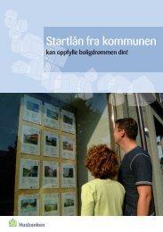 Startlånfra kommunen - Husbanken