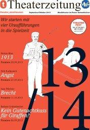Premiere - beim Theater Oberhausen