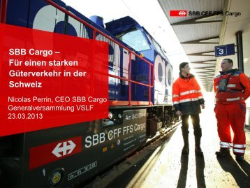 SBB Cargo - VSLF