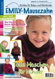 Stricken für Babys und Kleinkinder - Emily-Mausezahn