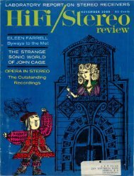 HiFi/Stereo Review November 1960 - Vintage Vacuum Audio
