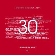 PDF-Auszug - Wolfgang Sternkopf