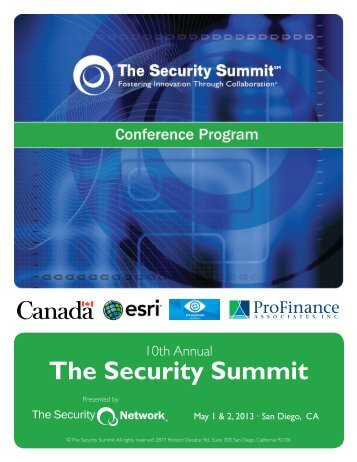 Program - The Security Network