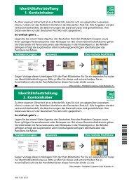 PostIdent zur Identitätsfeststellung für Neukunden - PSD Bank Rhein ...