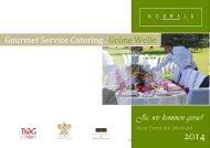 Die aktuelle Gourmet Service Catering Mappe finden Sie ... - Mörwald