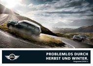 PROBLEMLOS DURCH HERBST UND WINTER. - Kaltenbach-Gruppe