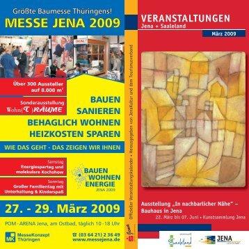 VERANSTALTUNGEN - MAGAZIN JENA + Saaleland