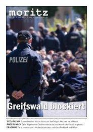 Greifswald blockiert - webMoritz