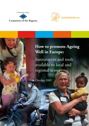 How to promote Ageing Well in - AGE Platform Europe