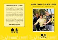 Download the Host Family Guidelines - STS