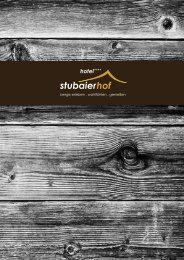 endlich urlaub - Stubaierhof