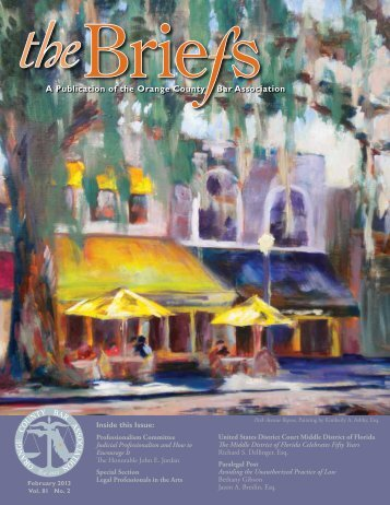The Briefs - February 2013 - Orange County Bar Association
