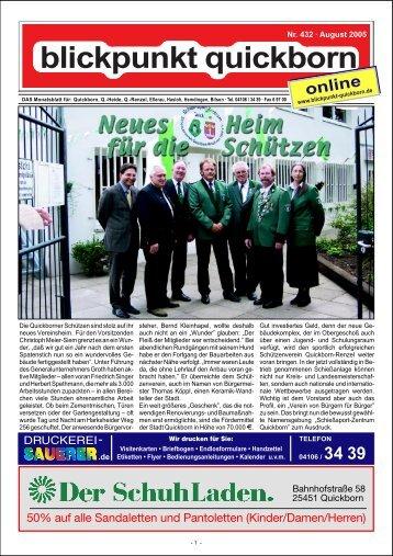 Nr. 432 – August 2005 - Blickpunkt Quickborn