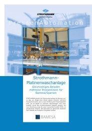 BAMESA - Strothmann-Platinenwaschanlage