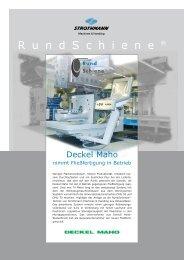 DECKEL MAHO nimmt Fließfertigung in Betrieb - Strothmann