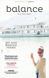 Wir sind Balance Hotels