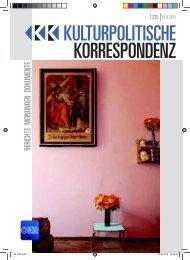 kk 1335_web - Kulturportal West Ost