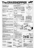 Tamiya Grasshopper Manual - Notices de modèles réduits ... - Page 2