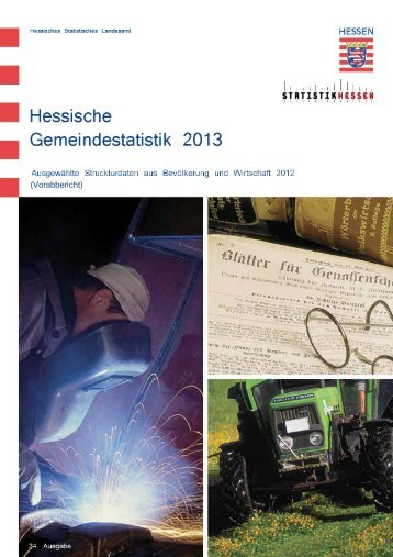 Hessische Gemeindestatistik 2013 - Werra-Meißner-Kreis