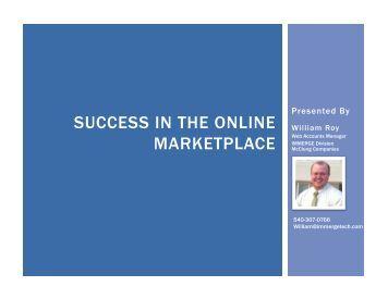 Effective Online Presence - Small Business Development Center