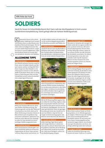 SOLDIERS - GameStar