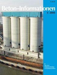 Beton-Info intern Beton-Info intern - beton informationen